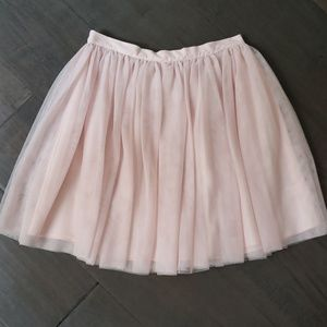 NWOT Girls GORGEOUS rose pink tulle skirt sz 14
